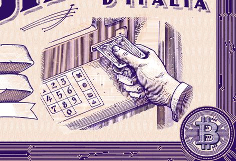"""Bitcoiner"" illustration for @wireditalia added…"