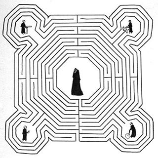 A lot of my curiosity about the Middle Ages started with this labyrinth.  R.I.P. #umbertoeco