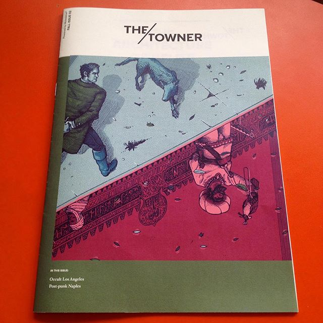 Just received the Fall Issue of @thetownermagazine by @moleskine_world with my #illustration on the cover, it features selected contents from the fall season's articles of the website. Very nice! 📖 - #editorial #alhambra #washingtonirving #moors #arab #peacock #illo #illustrator #italian #marcellocrescenzi #linework #penandink #etching #engraving #art #artwork #cover #opticalillusion #reflection #magazine #potd #fantasy #history #illustrator #design #creative