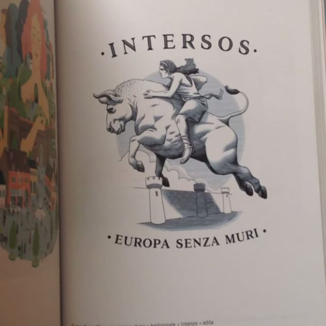 "Received a copy of AdI's 18th annual, where I'm featured with my illustration ""Europe without walls"" for @intersos in the #Advertise category. The cover from my friend @lrnzlrnzlrnzlrnzlrnzlrnzlrnzlr is definitely a pleasent surprise. Thanks @autoridimmagini"