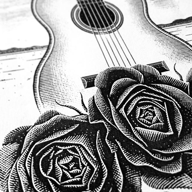 #workinprogress for an odd but cool musical project... 🌹🎸