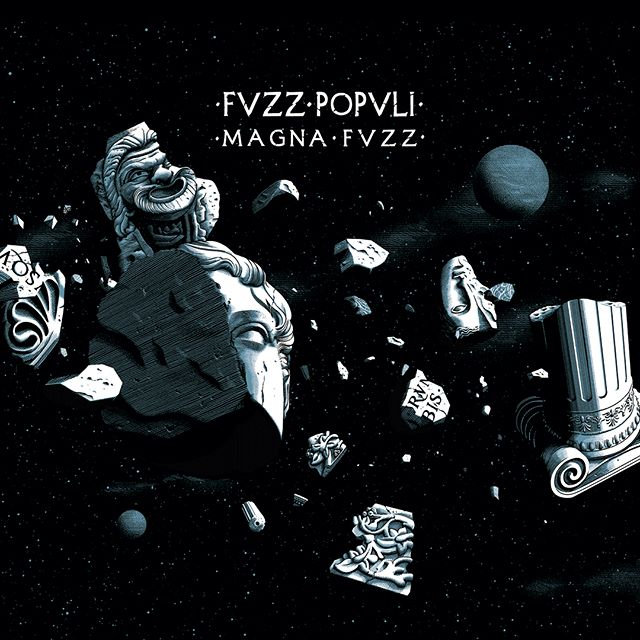 ➡️➡️➡️SWIPE➡️➡️➡️ Artwork for the new @fvzzpopvli release #magnafvzz out soon for @heavypsychsounds_records  Heavily inspired by #PinkFloyd 's Live at #Pompeii and a great fun to do this. 🗿🌒✨