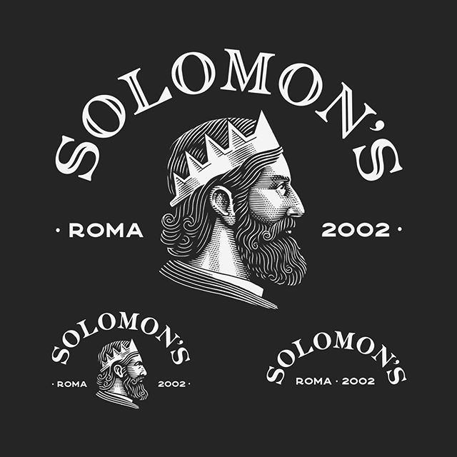 ➡️➡️➡️SWIPE➡️➡️➡️ Recently I have developed with @bakeagency a responsive, illustrated, #branding for @solomons_beard. A radical, complete, re-branding using typography and illustrations with three degrees of simplification and readibility, fully covering every size-based need for both printed and online usage.  It required me months of takes, projects and a cohese collective work to make it work but i'm ultimately very satisfied with the result.  Thanks to everyone in @bakeagency for the trust and constant support 